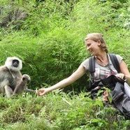 PhD student, Camille Testard, studies how macaques come together after a natural disaster